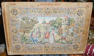 alte Stickvorlage #2 - petit point