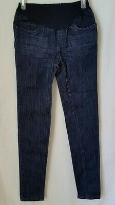 Motherhood Maternity Full Panel Skinny Jeans Pants Size Extra Small Inseam 31""
