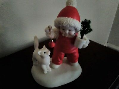 Snow Babies / Dept. 56 Originals - Here Kitty, Kitty -  Hard to Find!