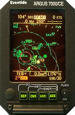 Eventide Argus 7000 CE GPS Moving Map, similar to the Sandel 3308 or KLN-94
