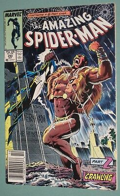 Amazing Spider-Man #293 Marvel Comics 1987 Kraven Last Hunt, Vermin, Mary Jane
