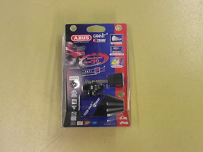 Brake Disc Lock in Special by ABUS in Blue New for Motorcycle & Scooter