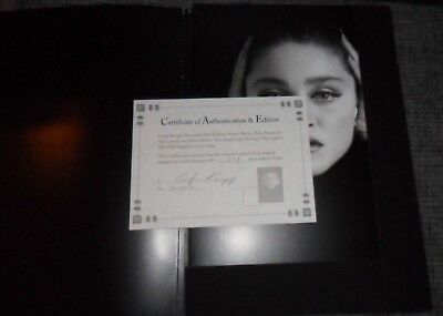 A PORTRAIT OF M by CURTIS KNAPP LIMITED EDITION OF 600 PHOTO BOOK Madonna