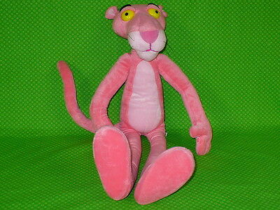"2003 THE PINK PANTHER POSABLE BENDABLE PINK PANTHER 22"" Plush Equity Toys"