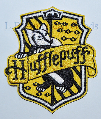 Harry Potter Wappen HUFFLEPUFF Aufnäher Patch *SOFORTVERSAND*