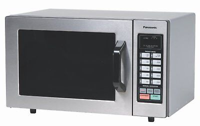 Commercial Microwave Oven Touch Screen Heavy Duty Stainless Steel Restaurant