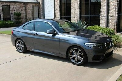 2015 BMW 2-Series Base Coupe 2-Door Mineral Grey Premium Technology Cold Weather Driving Assistance Auto One Owner