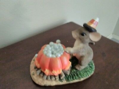 Charming Tails Mice - Bubbly Brew ( Halloween)