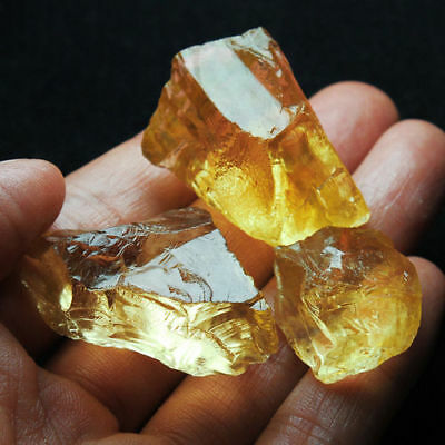 Lot Citrine brute 250 carats - Natural rough citrine