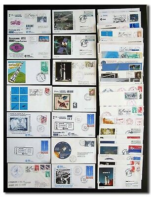 Ariane collection of 76 different covers -  2f98
