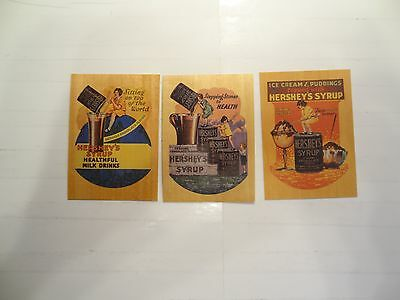 1995 Hershey's Trading Cards Chase Cards!!! W1+W2+W3!!! LOOK!!!