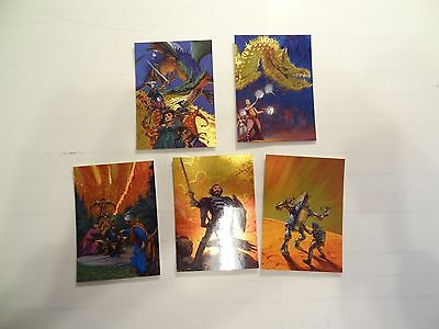 1994 Darrell Sweet Metallic Storm Chase Cards!! #'s MS1-MS5!! 5 Card Lot! FPG!!