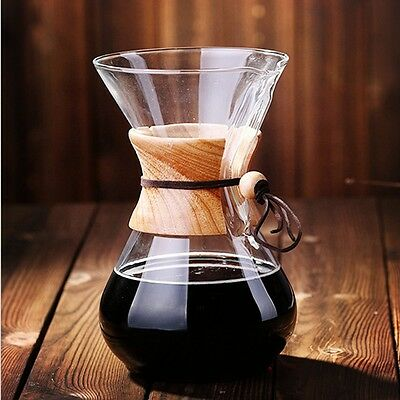 6 Cup Pour Over Chemex Coffee Maker