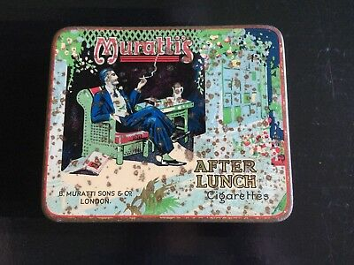 """Muratti's """"After Lunch """"  Tobacco Tin"""