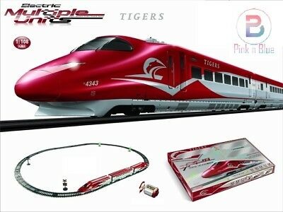 High Speed Like Euro Star  Electric Multiple Units Train Track Set Scale 1:108