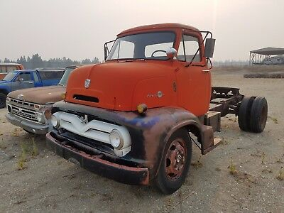 1955 Ford Other OTHER 1955 FORD COE SNUBNOSE C-600 TRUCK: KUSTOM  HOT RAT ROD TOPKICK PICKUP C.O.E !