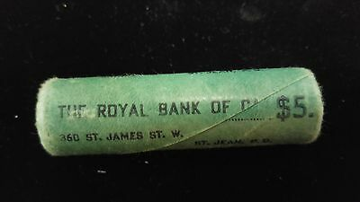 Sealed Royal Bank of Canada, 1967 Canada Silver Dime Roll