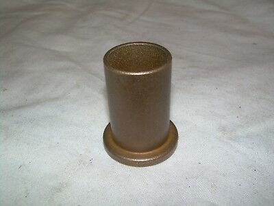 "Brass Flanged Bushing Bearing  5/8"" Id  3/4"" Od  1-1/4"" Long   New"