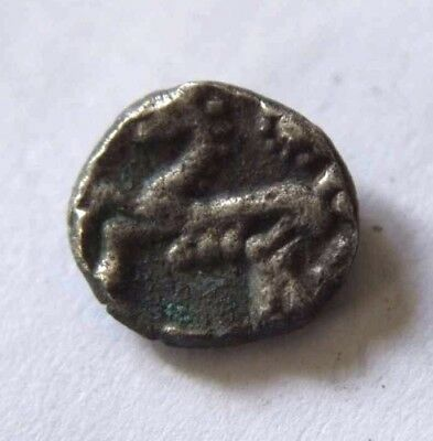 Celtic Corieltauvi Silver Coin with Horse 100 BC