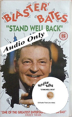 """Blaster Bates # 9, Soundtrack - on AUDIO CD - """" STAND WELL BACK """""""