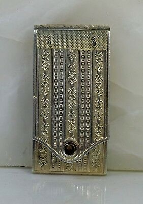 Antique Sterling Silver Vesta Case/match Safe