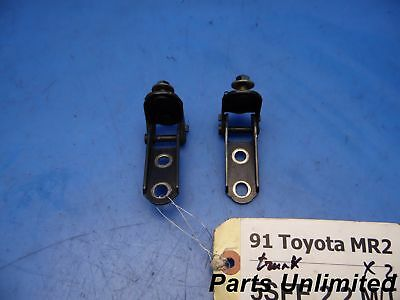 91-95 Toyota Mr2 SW20 OEM trunk door lid hinges brackets x2