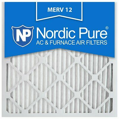 20X20x1 Air Filter Merv 12 Pack 11 8 Bulk Pleated Electrostatic Conditioner HVAC