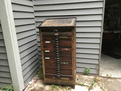 Hamilton Type Cabinet 21 drawers + accessories