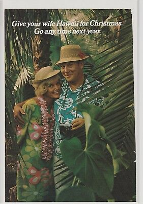 Hawaii for Christmas State Advertisement Campaign October 1969 Vintage Ad