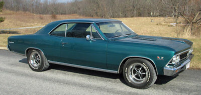 1966 Chevrolet Chevelle  Frame-off resto-mod, 454 cu in V8, 4-speed