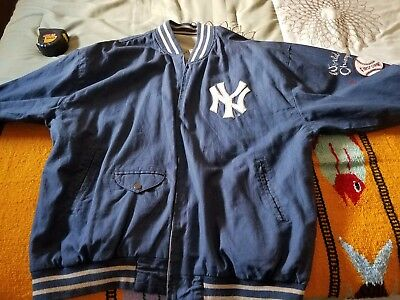 Mirage First String NY YANKEES 1961 BLUE & WHITE REVERSIBLE jacket XL