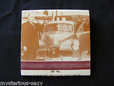 FX FIRST HOLDEN MATCHES MATCHBOOK Old Number One ~ No.1 in Series on Australiana