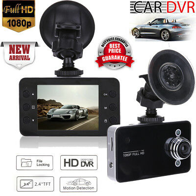Car Driving Video Recorder Ultra HD 1080P Wide Angle Night Vision Dash Camera