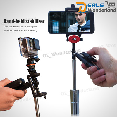 Hand-held stabilizer Camera Phone gimbal Steadicam for GoPro 4 5 iPhone Samsung