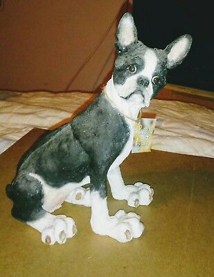 2002 Country Artists A Breed Apart 70022 Boston Terrier Dog Figurine