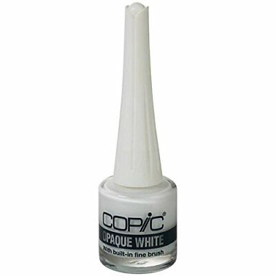 Too Copic opaque white with brush Japan