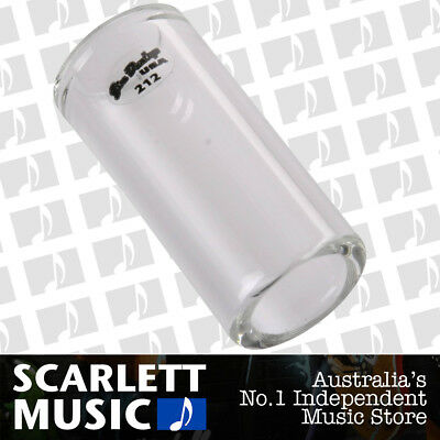 Jim Dunlop 213 Pyrex Tempered Glass Guitar Slide, Heavy Wall, Large Size *NEW*