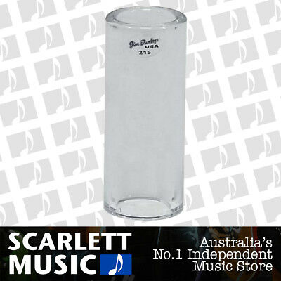 Jim Dunlop 215 Pyrex Tempered Glass Guitar Slide, Heavy Wall, Large Size *NEW*