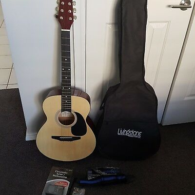 Livingstone Acoustic Guitar with Accessories