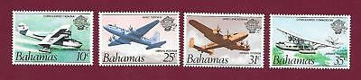 "1983 Bahamas "" Bicentennial Of Arrival Of Loyalists "" Set Of 4 Mint Un Hinged"