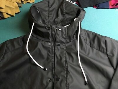 Cedarwood State Raincoat Jet Black XL New Without Tags