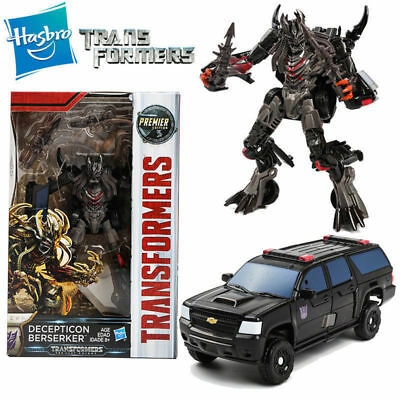 Transformers 5 Decepticon Berserker The Last Knight Premier Edition Action Toy