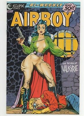 Airboy #5 (September 9, 1986, Eclipse) Dave Stevens Cover!