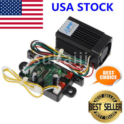 Promotion Quality 200mW 532nm Green Laser Module + Focus TTL Continuous Work USA