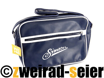Shoulder Bag, Bag, Motif: Simson retro-umhängetasche