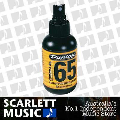 Jim Dunlop J6540 - Formula 65 Guitar Polish and Cleaner 118ml Spray *BRAND NEW*
