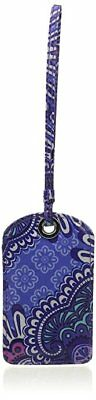 Vera Bradley Laminated Luggage Tag in Lilac Tapestry, NWT