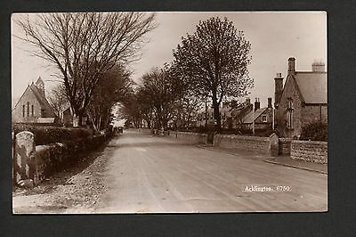 Acklington - real photographic postcard in Monarch series