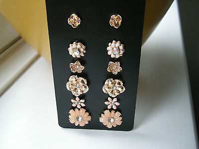6 Pairs Earrings Brand New Superb Lot