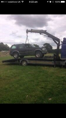 Transport Tractors plant machinery cars vans Hiab Crane fitted Scrap Cleared